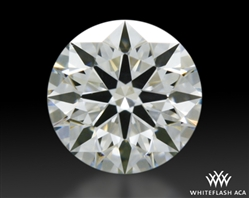 0.303 ct H SI1 A CUT ABOVE® Hearts and Arrows Super Ideal Round Cut Loose Diamond