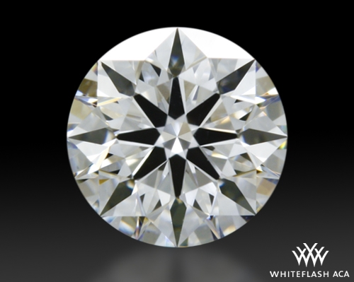 0.461 ct E VS2 A CUT ABOVE® Hearts and Arrows Super Ideal Round Cut Loose Diamond