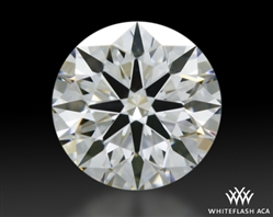 0.462 ct F VS1 A CUT ABOVE® Hearts and Arrows Super Ideal Round Cut Loose Diamond