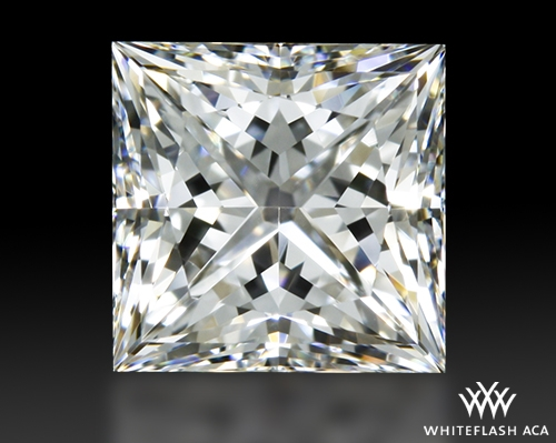 0.782 ct F VS1 A CUT ABOVE® Princess Super Ideal Cut Diamond