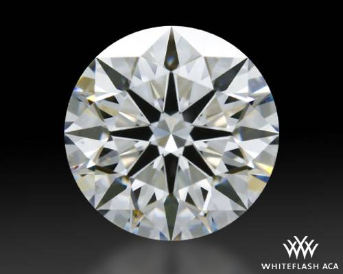 1.028 ct F VS2 A CUT ABOVE® Hearts and Arrows Super Ideal Round Cut Loose Diamond