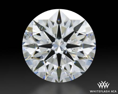 1.12 ct D SI1 A CUT ABOVE® Hearts and Arrows Super Ideal Round Cut Loose Diamond