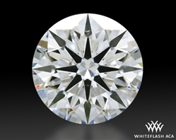 1.134 ct F VS2 A CUT ABOVE® Hearts and Arrows Super Ideal Round Cut Loose Diamond