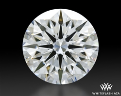 1.166 ct F SI1 A CUT ABOVE® Hearts and Arrows Super Ideal Round Cut Loose Diamond