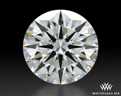 1.216 ct F VS1 A CUT ABOVE® Hearts and Arrows Super Ideal Round Cut Loose Diamond