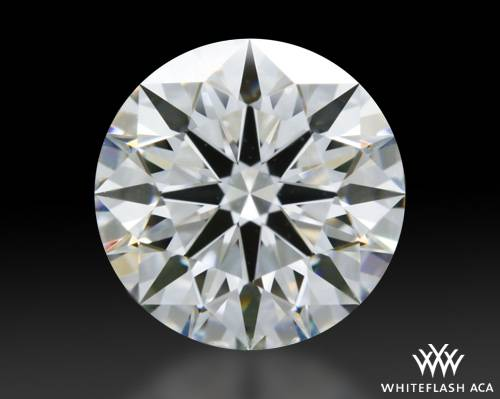 1.228 ct F VS1 A CUT ABOVE® Hearts and Arrows Super Ideal Round Cut Loose Diamond