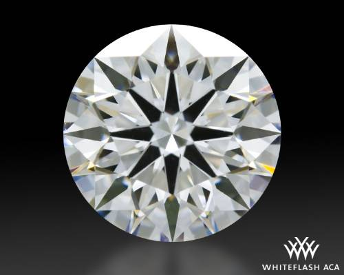 1.205 ct G VS2 A CUT ABOVE® Hearts and Arrows Super Ideal Round Cut Loose Diamond