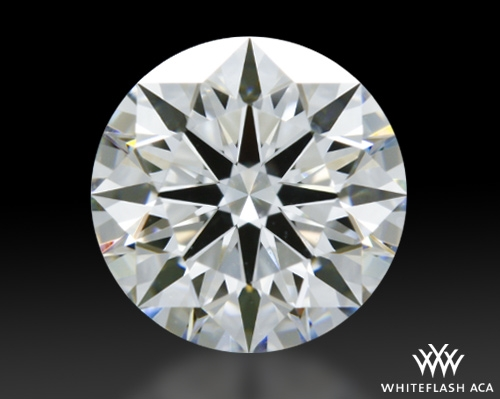1.011 ct G VS1 A CUT ABOVE® Hearts and Arrows Super Ideal Round Cut Loose Diamond