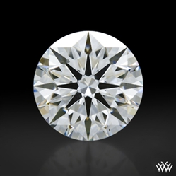 1.087 ct F VS1 A CUT ABOVE® Hearts and Arrows Super Ideal Round Cut Loose Diamond