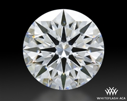 1.527 ct D VS1 A CUT ABOVE® Hearts and Arrows Super Ideal Round Cut Loose Diamond