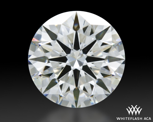 1.311 ct G VVS2 A CUT ABOVE® Hearts and Arrows Super Ideal Round Cut Loose Diamond