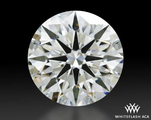 1.352 ct I VVS1 A CUT ABOVE® Hearts and Arrows Super Ideal Round Cut Loose Diamond