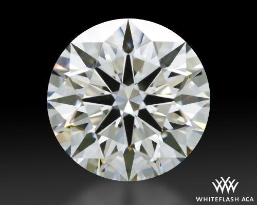 1.324 ct I VS1 A CUT ABOVE® Hearts and Arrows Super Ideal Round Cut Loose Diamond
