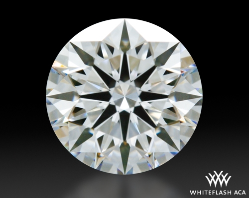 0.707 ct G VS1 A CUT ABOVE® Hearts and Arrows Super Ideal Round Cut Loose Diamond