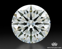 0.811 ct H VS2 A CUT ABOVE® Hearts and Arrows Super Ideal Round Cut Loose Diamond