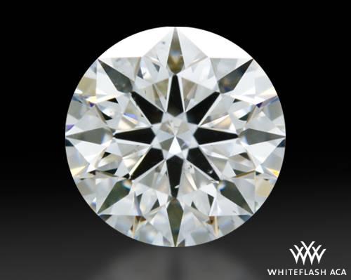 0.717 ct E SI1 A CUT ABOVE® Hearts and Arrows Super Ideal Round Cut Loose Diamond