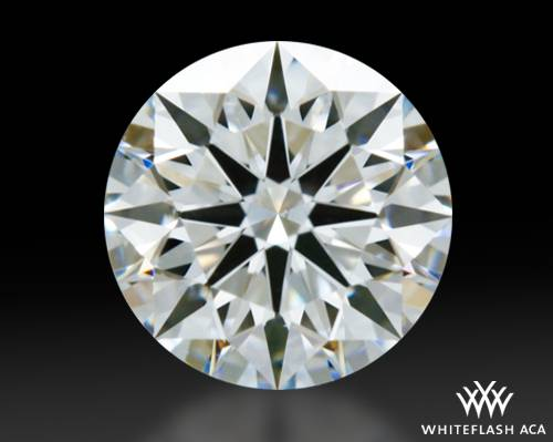 0.818 ct F VS2 A CUT ABOVE® Hearts and Arrows Super Ideal Round Cut Loose Diamond