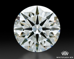 0.702 ct F SI1 A CUT ABOVE® Hearts and Arrows Super Ideal Round Cut Loose Diamond