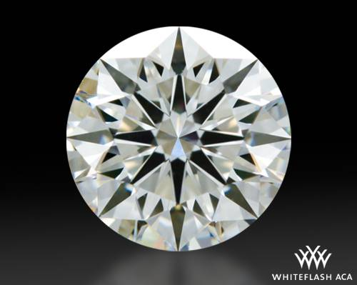 0.706 ct F VS1 A CUT ABOVE® Hearts and Arrows Super Ideal Round Cut Loose Diamond