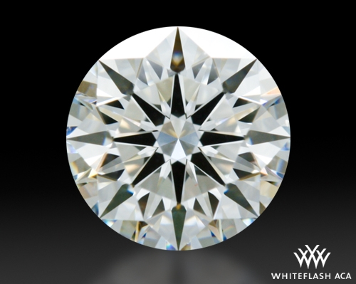 0.713 ct H VS1 A CUT ABOVE® Hearts and Arrows Super Ideal Round Cut Loose Diamond