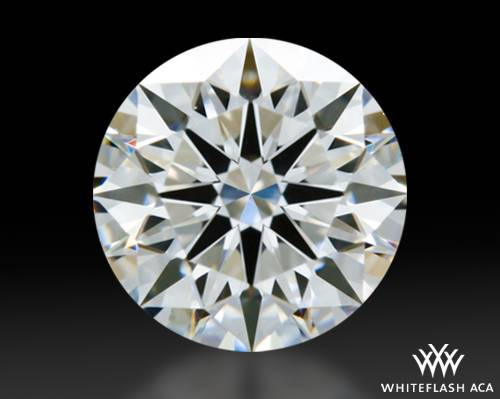 0.764 ct F VS1 A CUT ABOVE® Hearts and Arrows Super Ideal Round Cut Loose Diamond