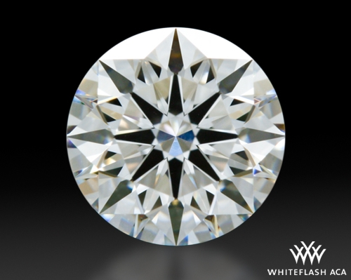 0.713 ct G VS1 A CUT ABOVE® Hearts and Arrows Super Ideal Round Cut Loose Diamond