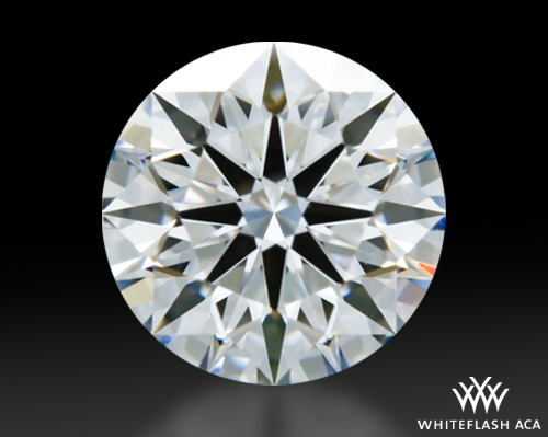 0.915 ct D VVS2 A CUT ABOVE® Hearts and Arrows Super Ideal Round Cut Loose Diamond