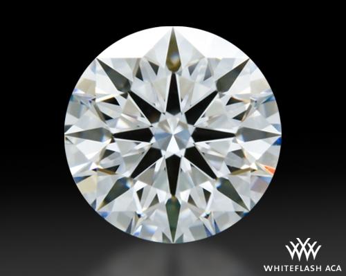 0.915 ct D VVS2 A CUT ABOVE® Hearts and Arrows Super Ideal Round Cut Loose Diamond