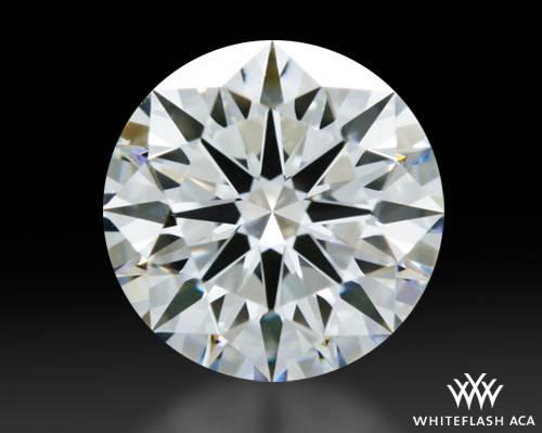 0.904 ct D VVS1 A CUT ABOVE® Hearts and Arrows Super Ideal Round Cut Loose Diamond
