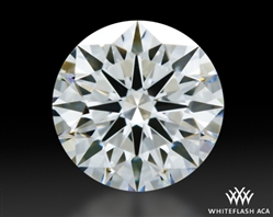 0.904 ct D VVS1 A CUT ABOVE® Hearts and Arrows Super Ideal Round Cut Loose Diamond