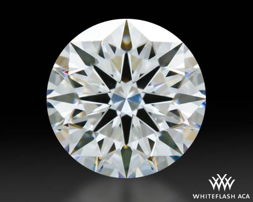 0.904 ct E VS1 A CUT ABOVE® Hearts and Arrows Super Ideal Round Cut Loose Diamond