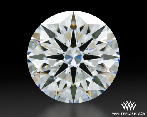 0.904 ct E VS1 A CUT ABOVE® Hearts and Arrows Super Ideal Round Cut Loose Diamond
