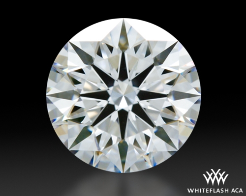 0.918 ct D VS1 A CUT ABOVE® Hearts and Arrows Super Ideal Round Cut Loose Diamond