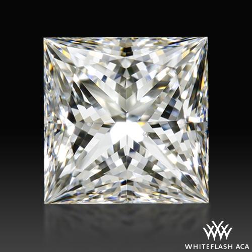 1.015 ct G SI1 A CUT ABOVE® Princess Super Ideal Cut Diamond