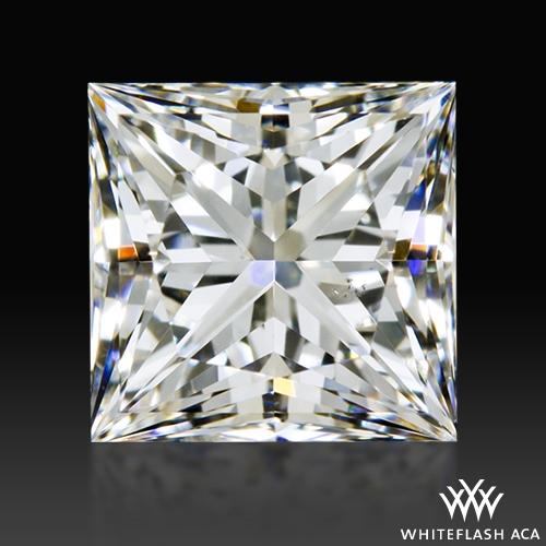 0.946 ct G SI1 A CUT ABOVE® Princess Super Ideal Cut Diamond