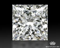 1.053 ct G VS2 A CUT ABOVE® Princess Super Ideal Cut Diamond