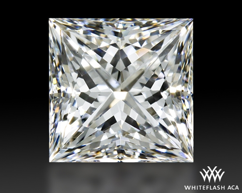 1.083 ct G VS2 A CUT ABOVE® Princess Super Ideal Cut Diamond