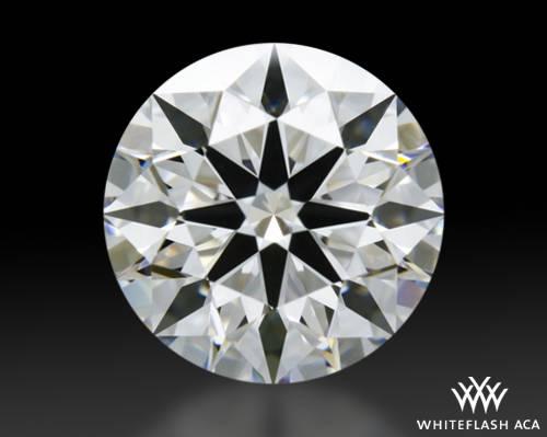 1.346 ct E VVS1 A CUT ABOVE® Hearts and Arrows Super Ideal Round Cut Loose Diamond