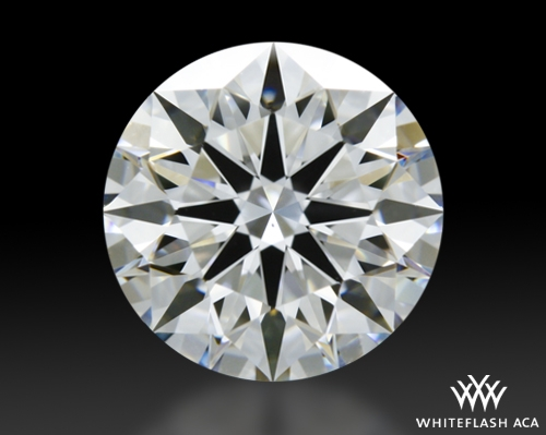 1.54 ct F VS2 A CUT ABOVE® Hearts and Arrows Super Ideal Round Cut Loose Diamond
