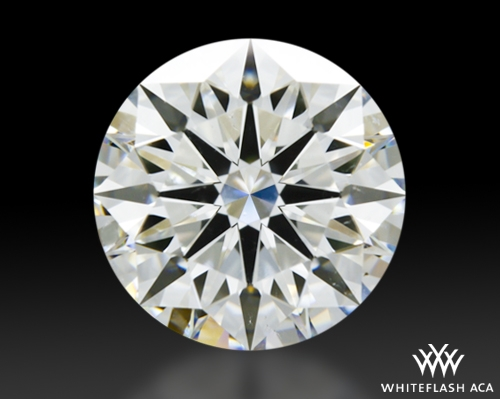 1.531 ct G SI1 A CUT ABOVE® Hearts and Arrows Super Ideal Round Cut Loose Diamond