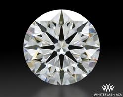1.528 ct E VS2 A CUT ABOVE® Hearts and Arrows Super Ideal Round Cut Loose Diamond