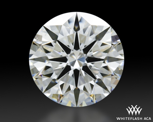 1.143 ct F VS1 A CUT ABOVE® Hearts and Arrows Super Ideal Round Cut Loose Diamond