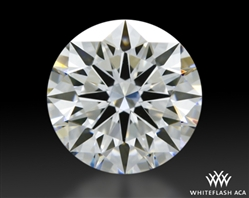 0.91 ct F VS1 A CUT ABOVE® Hearts and Arrows Super Ideal Round Cut Loose Diamond