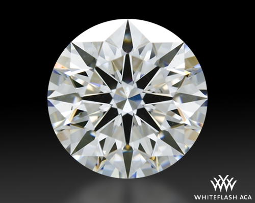 1.05 ct F SI1 A CUT ABOVE® Hearts and Arrows Super Ideal Round Cut Loose Diamond