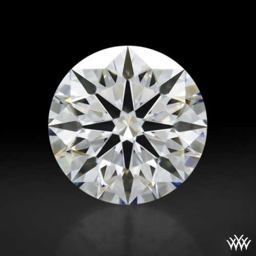 1.095 ct F VS1 A CUT ABOVE® Hearts and Arrows Super Ideal Round Cut Loose Diamond