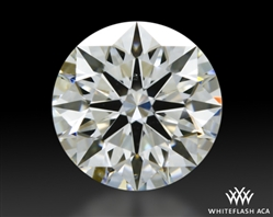 1.031 ct G VS2 A CUT ABOVE® Hearts and Arrows Super Ideal Round Cut Loose Diamond