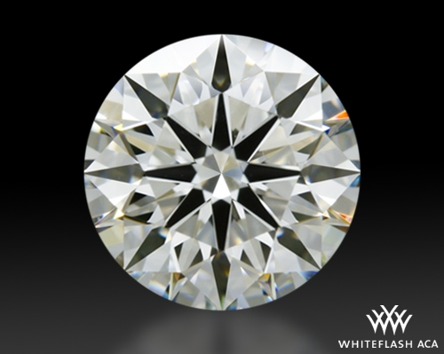 1.346 ct I VVS2 A CUT ABOVE® Hearts and Arrows Super Ideal Round Cut Loose Diamond