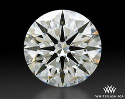 1.346 ct I VVS2 A CUT ABOVE® Hearts and Arrows Super Ideal Round Cut Loose Diamond