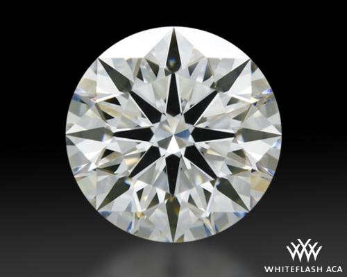1.318 ct H VS2 A CUT ABOVE® Hearts and Arrows Super Ideal Round Cut Loose Diamond