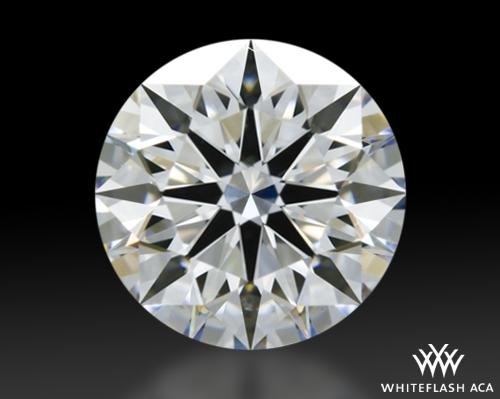 1.322 ct E VS2 A CUT ABOVE® Hearts and Arrows Super Ideal Round Cut Loose Diamond